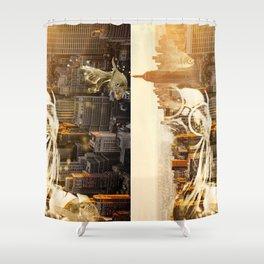 City Girl Shower Curtain
