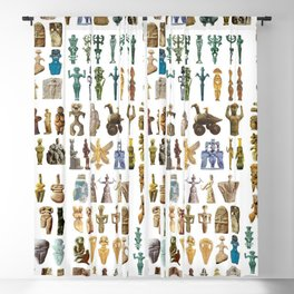 Upper Palaeolithic Venus Statuettes  Blackout Curtain