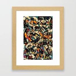 Pattern № 100 Framed Art Print