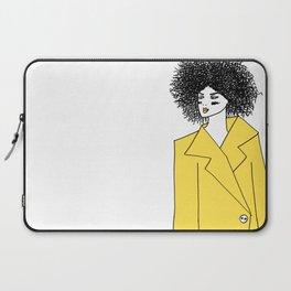 Yellow Coat Laptop Sleeve