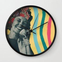 Yes, Karen Wall Clock