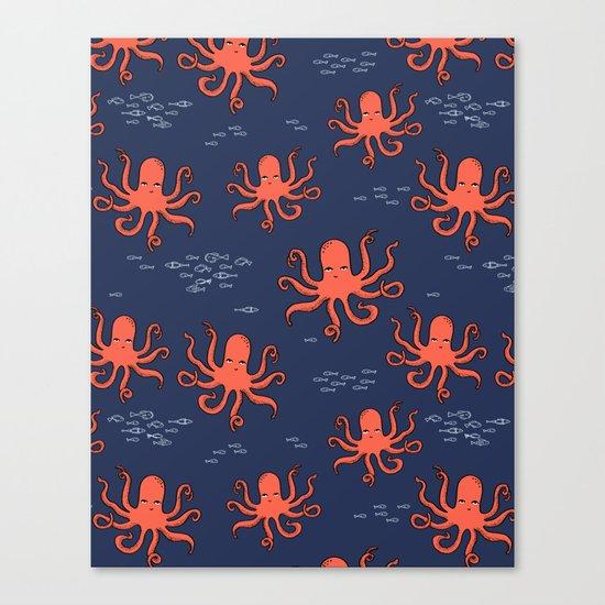 Octopus by Andrea Lauren Canvas Print