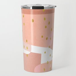 Conglomeration in Pink Travel Mug