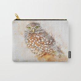 Bird animal owl art abstract Carry-All Pouch