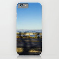 Tree shadow on road iPhone 6s Slim Case