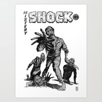 zombies Art Prints featuring Zombies by Christian G. Marra