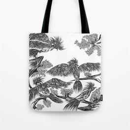 Japanese Birds Tote Bag