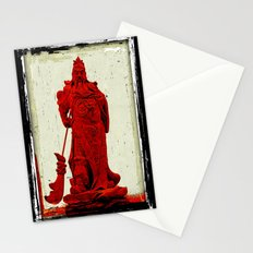 General's Red Rage Stationery Cards