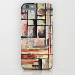 Joaquin Torres Garcia Cathedral Construction iPhone Case