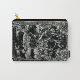 THE DEVIL of Tarot Cats Carry-All Pouch