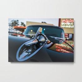 Drive-In Dynamite Metal Print