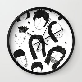 We are the metalheads Wall Clock