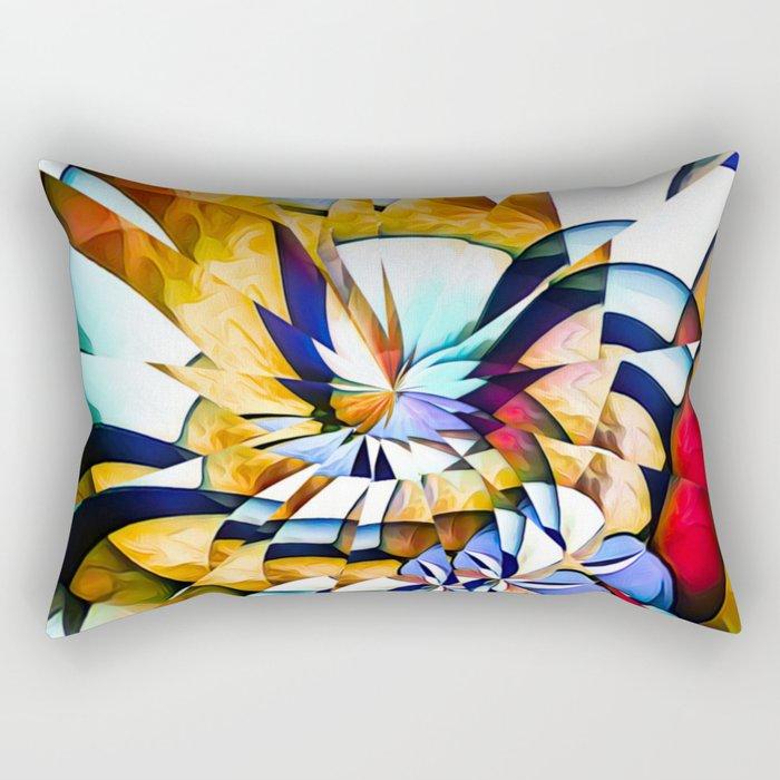 Birth Of A Butterfly Rectangular Pillow
