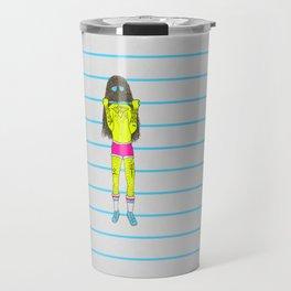 Pullup Travel Mug