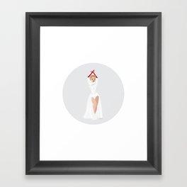 White Christmas #3 Framed Art Print