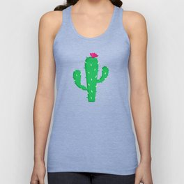 Pattern #13 B: Cactus Unisex Tank Top