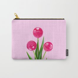 LOLLIPOP TULIPS PINK Carry-All Pouch