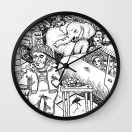 Welcome to Jive Street Wall Clock
