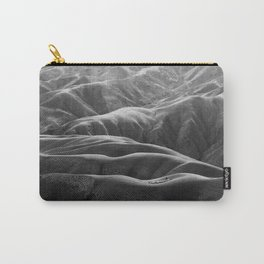 Endless Valleys (Black and White) Carry-All Pouch