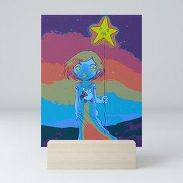 Sleep Walking Susie (Painting) Mini Art Print