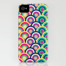 Circle colors Slim Case iPhone (4, 4s)