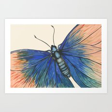 Butterfly - Geometric Abstract Art Print