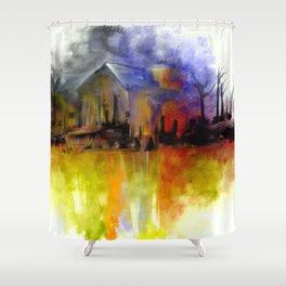 A Secret Place Shower Curtain