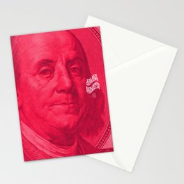 Benjamin (pink) Stationery Cards
