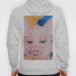 Blue Ribbon Pig Hoody