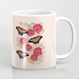 Swallowtail Florals by Andrea Lauren  Coffee Mug