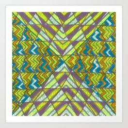 Trizzle Art Print