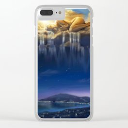 Goddess Nyx Clear iPhone Case