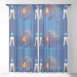 Crazy Horse Sheer Curtain