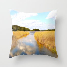 View From The Bridge - version #2 Throw Pillow