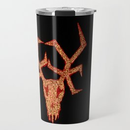 Wendigo Red Aura Travel Mug