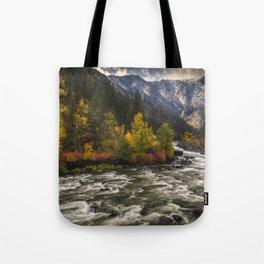 The Leavenworth Bend Tote Bag