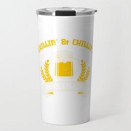 Grilling Grill Beer Lover Grillking Beer Mug Gift Travel Mug