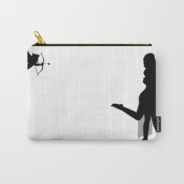 Romantic Couple Kissing Carry-All Pouch