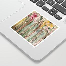Woods in Spring Sticker
