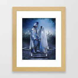 Jasmin and Aladdin Framed Art Print