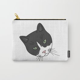 Tuxedo Green Carry-All Pouch