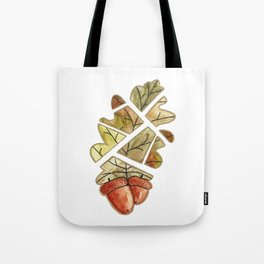 Oak leaf and acorns Tote Bag
