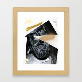 Untitled (Painted Composition 12) Framed Art Print
