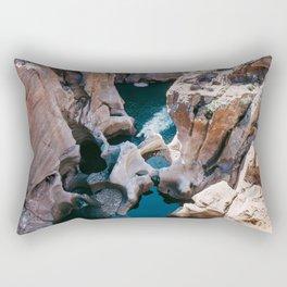 Bourke's Luck Potholes Rectangular Pillow