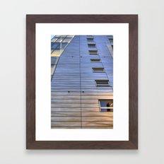 Highline Architecture Framed Art Print