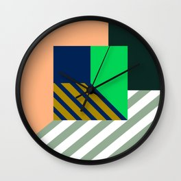 Abstract room c Wall Clock