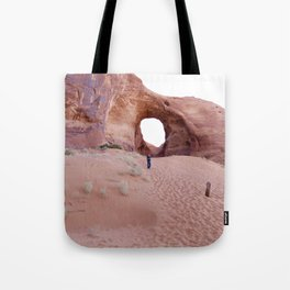 The Ear, the Backcountry, the Sand, and my Dad Tote Bag