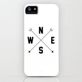 Letterman Compass iPhone Case