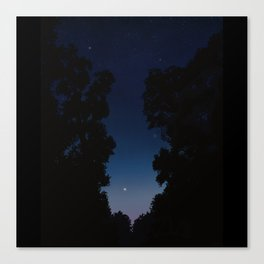 The Long Twilight Of Midsummer Nights Canvas Print