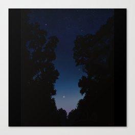 The Long Twilight Of Midsummer Nights Canvas Print
